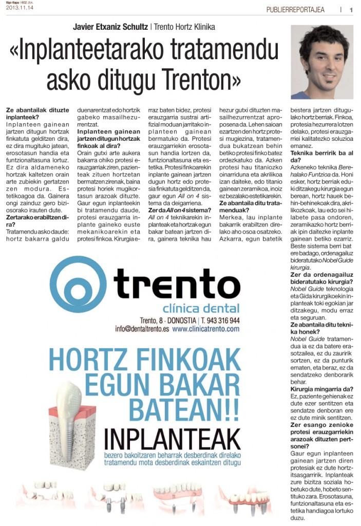 Entrevista al Dr Javier Etxaniz, en Ttipi Ttapa